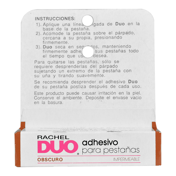 Duo Adhesivo Para Pestañas Obscuro