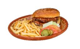 Hamburguesa Doble Cubana