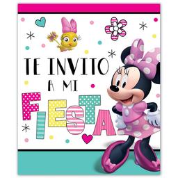 Granmark Tarjeta de Invitación Minnie Sin Sobre
