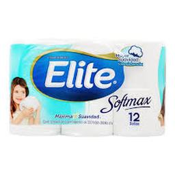Papel Higiénico Elite Soft Max 12 U