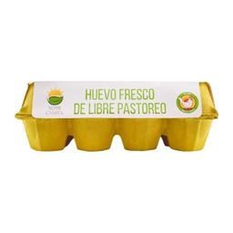 Huevo Libre Pastoreo 12 Pzs Nutricampo