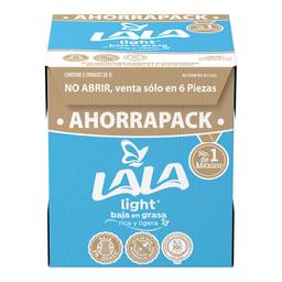 Leche ULra Light Pack Lala 6 Litro Caja