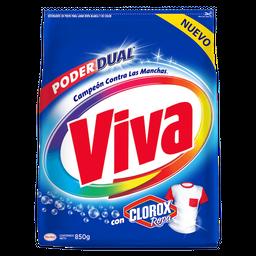 Viva Detergente En Polvo  Para Ropa Blanca Y De Color