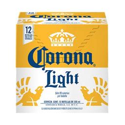 Cerveza Corona Light Clara X 12