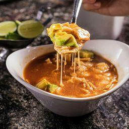 Sopa Tortilla Sonorense