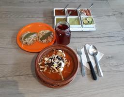 Combo Sopa de Tortilla