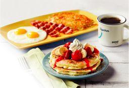 Pancake Strawberry Banana