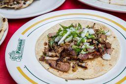 Taco Doneraky en Tortilla de Maíz
