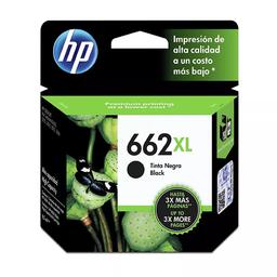 Hewlett-Packard Tinta Hp Color Negro 662 En Cartucho Xl