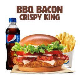 BBQ Bacon Crispy King