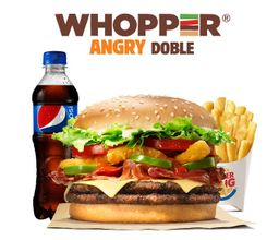 Combo Whopper Angry Doble