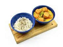 Curry con Tofu