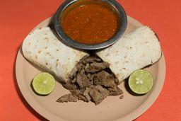 Taco Árabe con Bistec