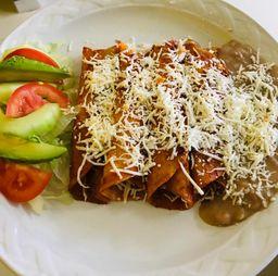 Enchiladas Cosaltecas