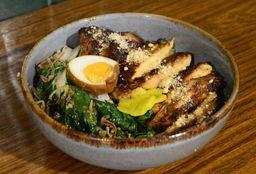 Bento de Pollo en BBQ Taiwanés