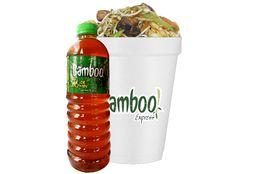 Chow Mein  y Bebida
