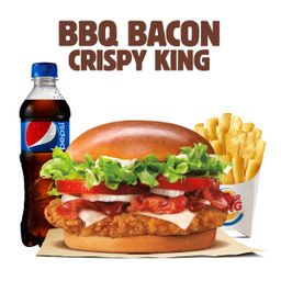 BBQ Bacon Crispy King Pollo