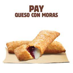 Pay Queso con Moras