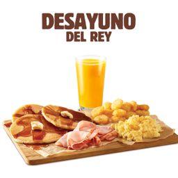 Desayuno del Rey
