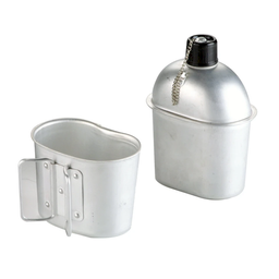 Cantimplora Ibili de Aluminio Army de 1 L