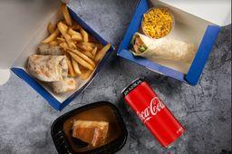 Combo Burrito y Coca-Cola