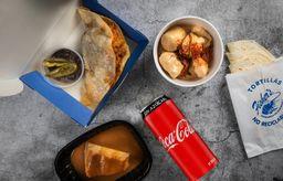 Combo Lomos y Coca-Cola