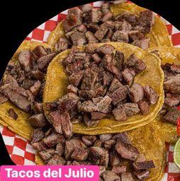Combo Tacos Bistec