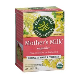 Infusion Te Traditional Medicinals Mothers Milk 24 g