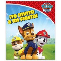 Fiesta Invitacion Paw Patrol