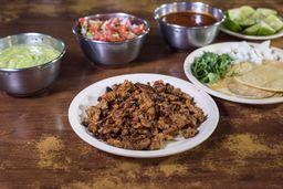 Orden de  3 Tacos de Pastor