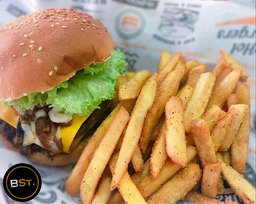Street Burger + Papas + Pepsi 355 ml
