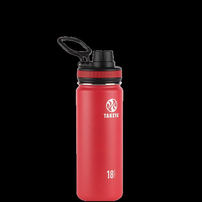 Botella Takeya Originals 530 mL Rojo