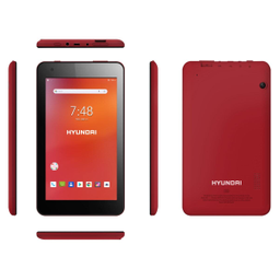 "Tablet Hyundai 8"" Rojo"