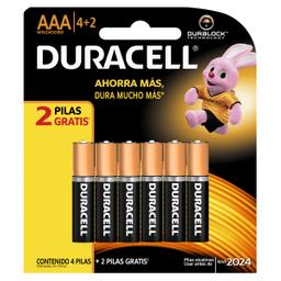 Pila Duracell AAA 6 U