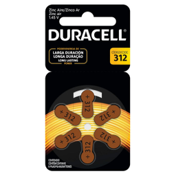Pila Duracell Auditiva 312 6 U