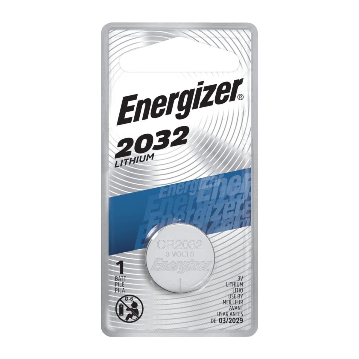 Pila Energizer 2032 Botón Litio