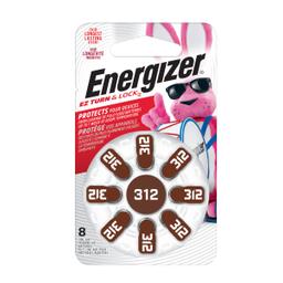 Pila Energizer Auditiva Ha 312 8 U