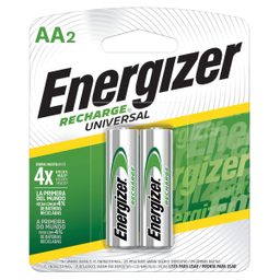 Pila Energizer Recargable AA 2 U
