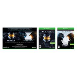 Videojuego Xbox One Bunble Halo 5 + Master 2 U