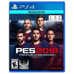 Videojuego Ps4 Pes Soccer 2018