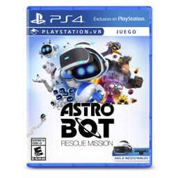 Videojuego Ps4 Vr Astro Bot Rescue Mission