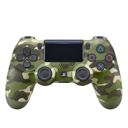 Control DS4 Ps4 Green Camuflage