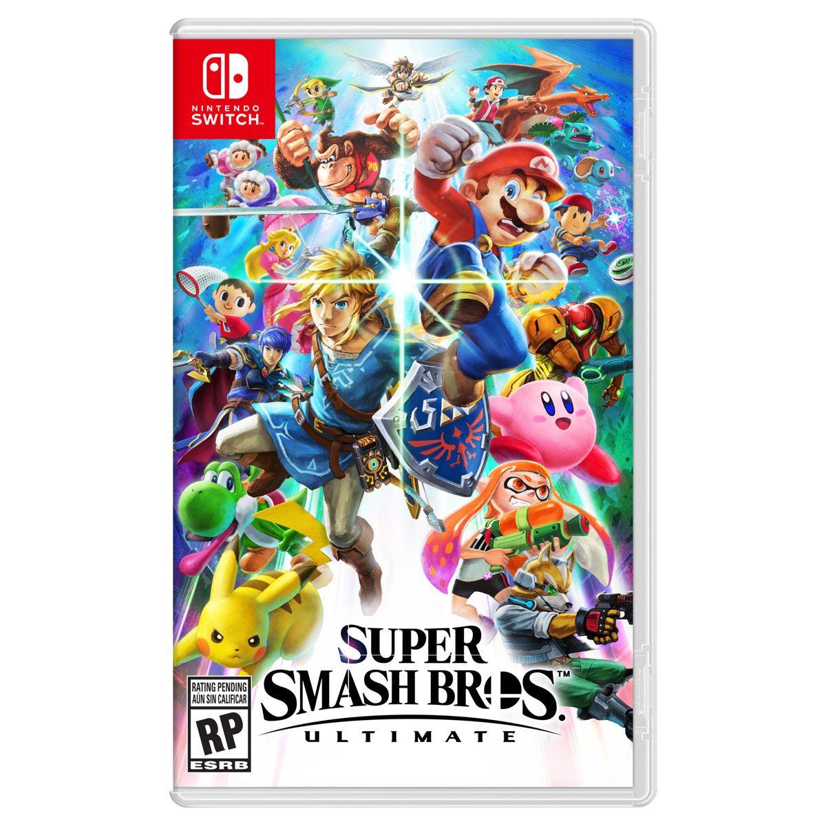Videojuego Nintendo Switch Super Smash Bros Ultimate