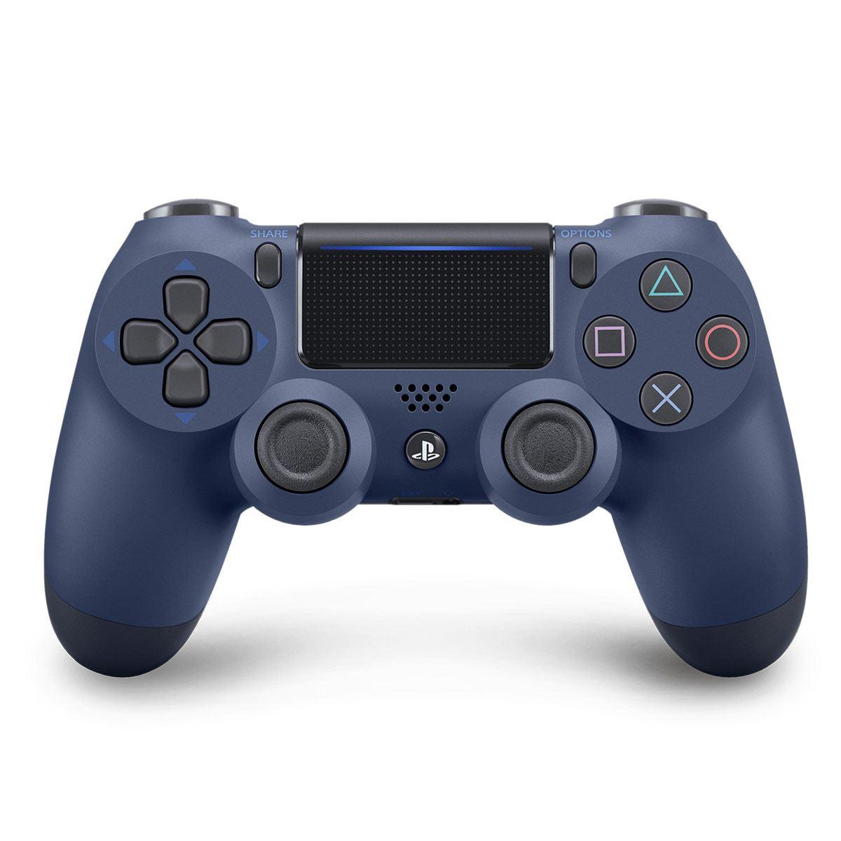 Control Inalámbrico Ps4 Azul Marino