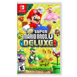 Videojuego New Super Mario Bros U Deluxe Nintendo Switch