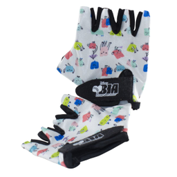 Pack Bici Bia Cover Asiento y Guantes 2 U