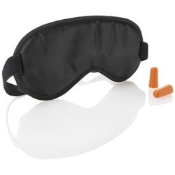 Set Travel Smart Máscara Para Ojos y Tapones Para Oídos