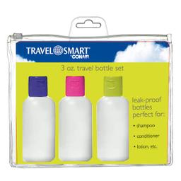 Kit Travel Smart Botellitas Viaje 3 U