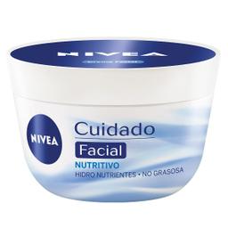 Crema Facial Nivea Cuidado Nutritivo