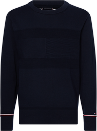 Sweater Structured Flag Azul